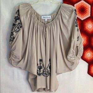 Fifteen-Twenty peasant blouse